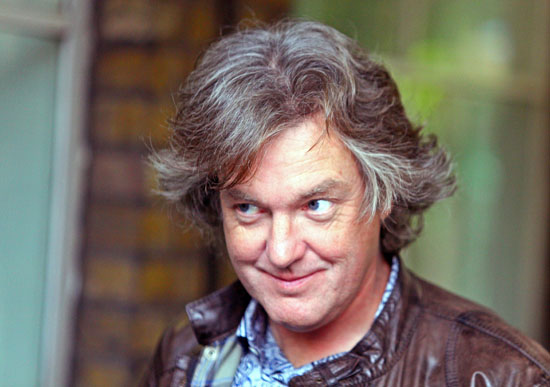 James May - 2017 Dyed hair & edgy hair style. Current length:  short hair (ear length)